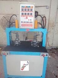 Double Cylinder Semi Automatic Paper Plate Machine