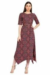 Ladies Printed Maxi/Dress