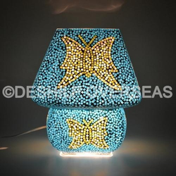 Butterfly Mosaic Table Lamp