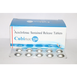 Aceclofenac Sustained Relese Tablets