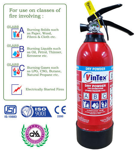 ABC Powder Based Fire Extinguisher 1 Kg