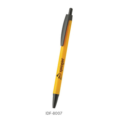 Yellow Plastic Ball Pen