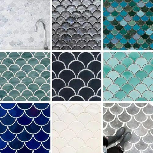 Tile patterns for backsplash