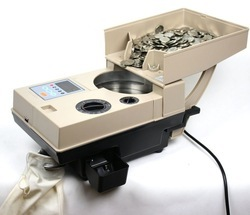 Coin Counting Machine - Counts Plastic Token Also