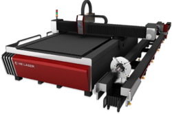 Tube and Plate Laser Cutting Machine