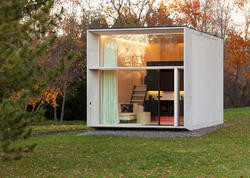Prefab office container and security booths - Movable Pre ...