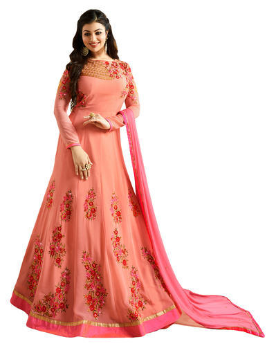 9be56d26b1 Long Anarkali Suit - Latest 2018 Party Wear Anarkali Style Salwar ...