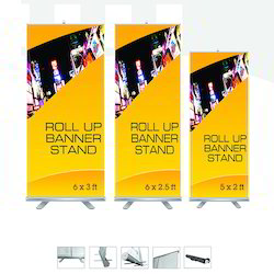 Banner Stand for Advertising