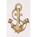 Anchor Designs Brass Key Hook with 5 Hook
