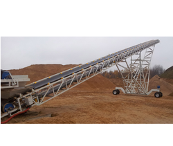 Radial Movement Conveyor for Dual Feeding