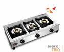 Three Burner Gas Stove  SU-3B-Trio