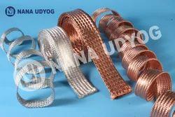 Tinned Copper Flexible Flat Braid