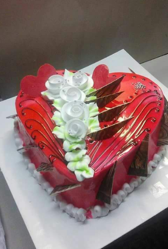 Birthday Cakes Cake With Flower Designs Service Provider