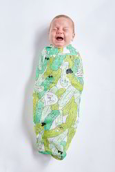 Multi Color Organic Certified Cotton Baby Wraps