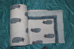 Block Printed Jaipuri Quilts