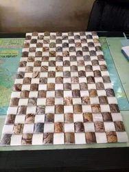 Bidasar Marble Wall Cladding Mosaic Tiles