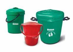 Household Buckets Dust Bin