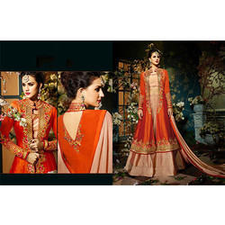 Silk Koti Party Wear Lehenga