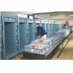Frozen Meat Storage Rooms