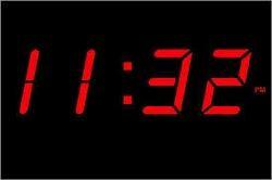 Digital Clocks 4 Inch