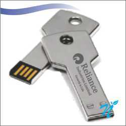 Metal Key Shaped Pen Drive