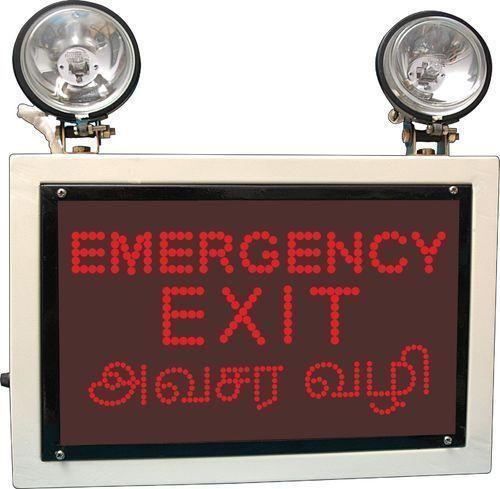 Emergency Signages Exit Lights
