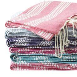 Custom Logo Turkish Cotton Towels