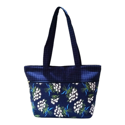 aa78f3247a Handbags - Shoppertize Cotton Fiber Floral Print Women Handbag Importer  from Gurgaon