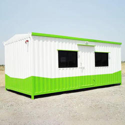Rectangular Prefab Portable Cabin