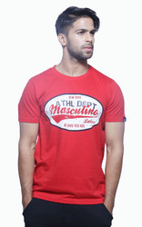 Mens Casual Printed T Shirt