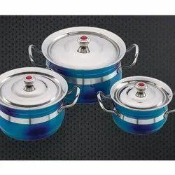 Double Colour Ajanta Serving Bowl Set