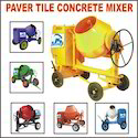 Paver Tile Concrete Mixer