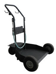 Trolley For Portable Oil/Grease Systems