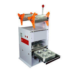 Four Head Semi Auto Cup Sealing Machine