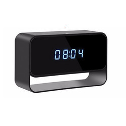 1080P WIFI Clock HD Camera