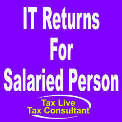It Returns For Salaried Person