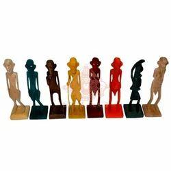 Wooden African Set