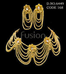 Traditional Beaded Necklace Set
