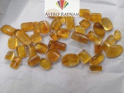 Natural Amber Loose Gemstone