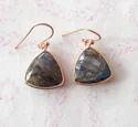 Natural Labradorite Earrings