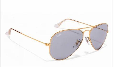 dc1d00916d8 0RB3025 Golden Grey L1744 Aviator Sunglasses