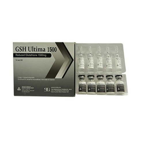 GSH Ultima 1500mg Glutathione Injection