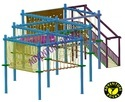 Single Layer 10 Pole Rope Course