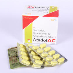 Aceclofenac ,Paracetamol Tablet