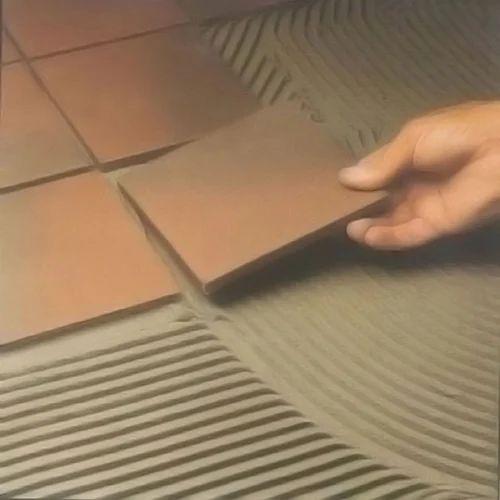 Glue wood to ceramic tile