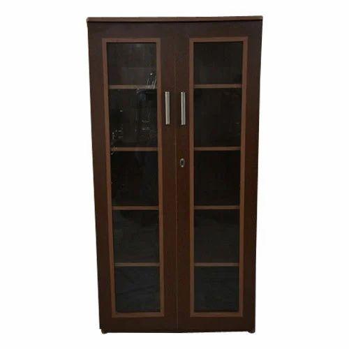 library furniture 2 door wooden almirah manufacturer from patiala