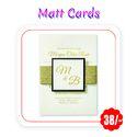Multi Colors - Wedding Cards (Matt - A3 Size/ 300 Gsm)