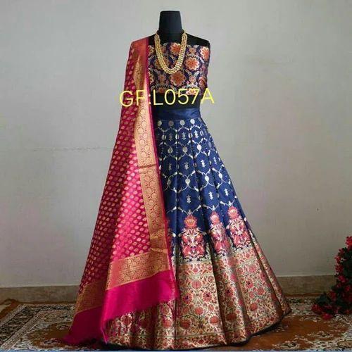 7506a966b5 Lehenga Choli - Brocade Lehenga Wholesale Trader from Surat