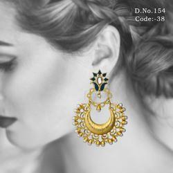 Designer Chandbali Earrings