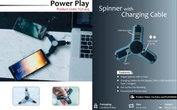 Spinner with Charging Cable